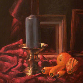 Robert Dale Williams - Still Life with Candle and Frames