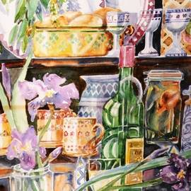 Trudi Doyle - Still Life with Irises