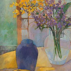 Rhonda Brooks - Still Life with Lavender