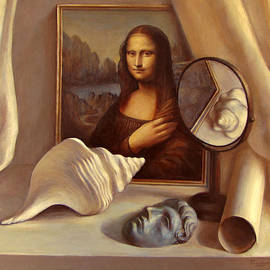 Felix Freudzon - Still Life with Mirror and Shell