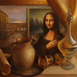 Felix Freudzon - Still Life with Mona Lisa