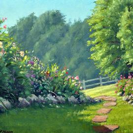 Rick Hansen - Stone Garden Path