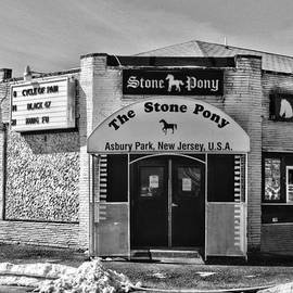 Paul Ward - Stone Pony in Black and White
