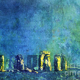 Ryan Fox - Stonehenge in Moonlight