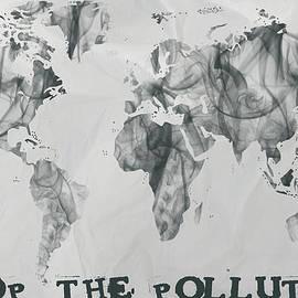 Eti Reid - Stop the pollution world map smoke