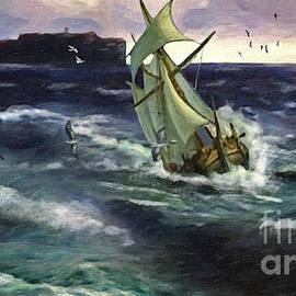 Lianne Schneider - Storm at Dubrovnik