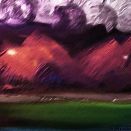 Lenore Senior - Storm at Sundown