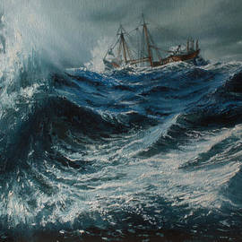 Shobita Sreekumar - Storm in the sea