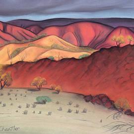 Judith Chantler - Storm Outback Australia