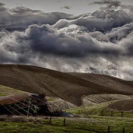 Robert Woodward - Storm Over Decrepit Barn