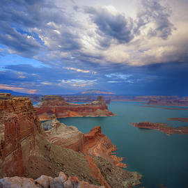 Ray Mathis - Storm over Lake Powell