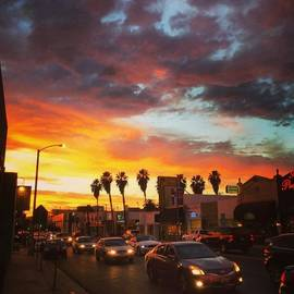 Robert Stewart - Storm Over Melrose #losangeles #sunset