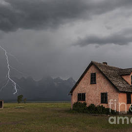 Sandra Bronstein - Stormy Teton Morning