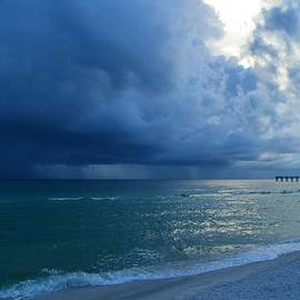 Jeff at JSJ Photography - Storms Brewing off Navarre Beach at Dawn