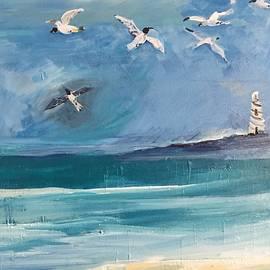 Christina Schott - Stormy Seagulls