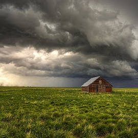 Douglas Berry - Stormy Shelter - Old Barn