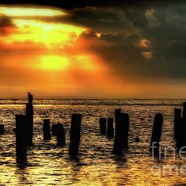 Dan Carmichael - Stormy Skies at Sunrise Outer Banks