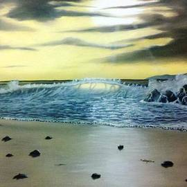 William Brown - Stormy Sunset