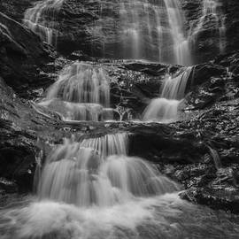 Andy Gimino - Stowe-Vermont-waterfall-black and white-nature