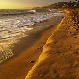 Cliff Wassmann - Strand Beach Dana Point at Sunset