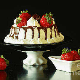 Inspired Nature Photography By Shelley Myke - Strawberry Chocolate Dream Cake