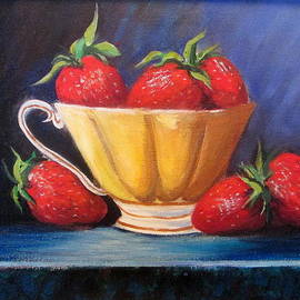 Rosie Sherman - Strawberry Teacup