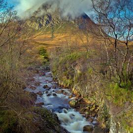 Gary Eason - Stream below Buachaille Etive Mor