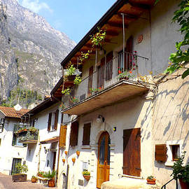 Rumyana Whitcher - Street In Limone Italian Dolomites