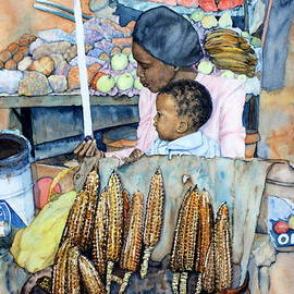 Ursula Reeb - Street Markets - Selling Roasted Millies