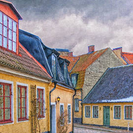 Antony McAulay - Streets of lund Digital Painting