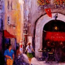 Cristina Mihailescu - Streets of Vernazza..