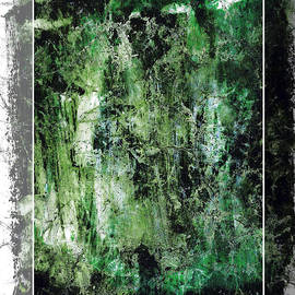 Evan Steenson - Green Abstraction with Enclosure