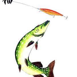 Gordon Lavender -  Fishermans Dream Striking Pike