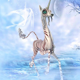 Nelieta Mishchenko - Striped Unicorn