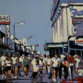 David Zimmerman - Study for Large Boardwalk
