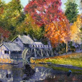 David Zimmerman - Study for Mabry Mill