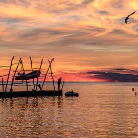 Dejan Stojakovic - Stunning sunset in Croatia