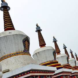 Anton C - Stupas, Representing Major Events In