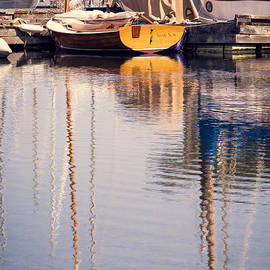 Alanna DPhoto - Subtle Colored Marina Reflections
