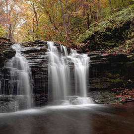 Gene Walls - Subtle Fall Hues At Wyandot Falls
