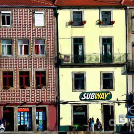 Mary Machare - Subway - Porto