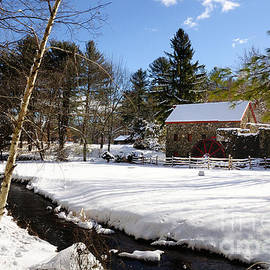Mark Valentine - Sudbury - Grist Mill Winter Creek
