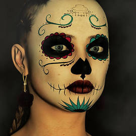 Liam Liberty - Sugar Skull - Day Of The Dead Face Paint