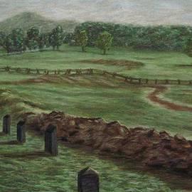 Joann Renner - Summer at Cemetary Ridge Gettysburg