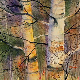 Teresa Ascone - Summer Birch II