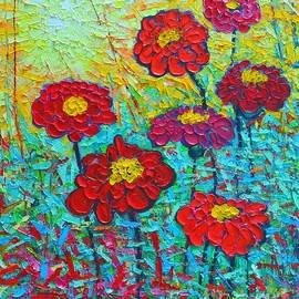 Ana Maria Edulescu - Summer Colorful Flowers - Sunrise Garden