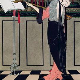 Georges Barbier - Summer Evening Wear from Art Gout Beaute