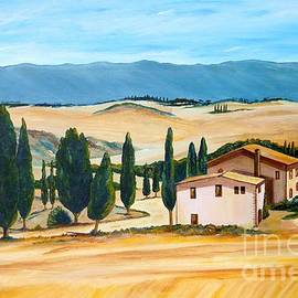 Christine Huwer - Summer in Tuscany