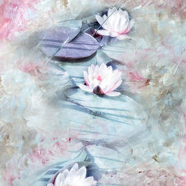 VIAINA Visual Artist - Summer Lily Pond
