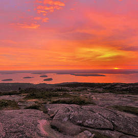 Stephen  Vecchiotti - Summer Sunrise - Cadillac Mountain